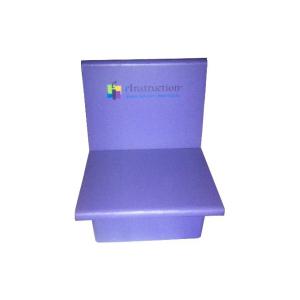 Fauteuil bas sans accoudoirs en carton - My Nature Box
