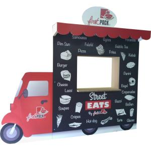 Foodtruck Cloison en carton