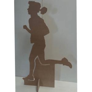 Silhouette en carton