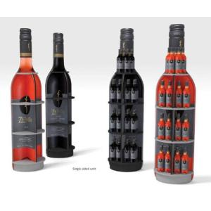 Présentoir a vin en carton