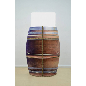 Présentoir de vin en carton