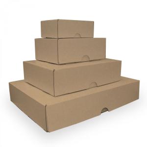 boite carton empile