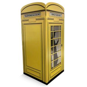 cabine telephonique carton 1500