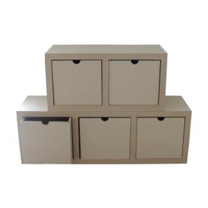 Modules de rangement en carton - My Nature Box