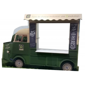 Foodtruck Citroën en carton