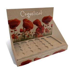 plv comptoir carton