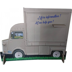 Camion en carton