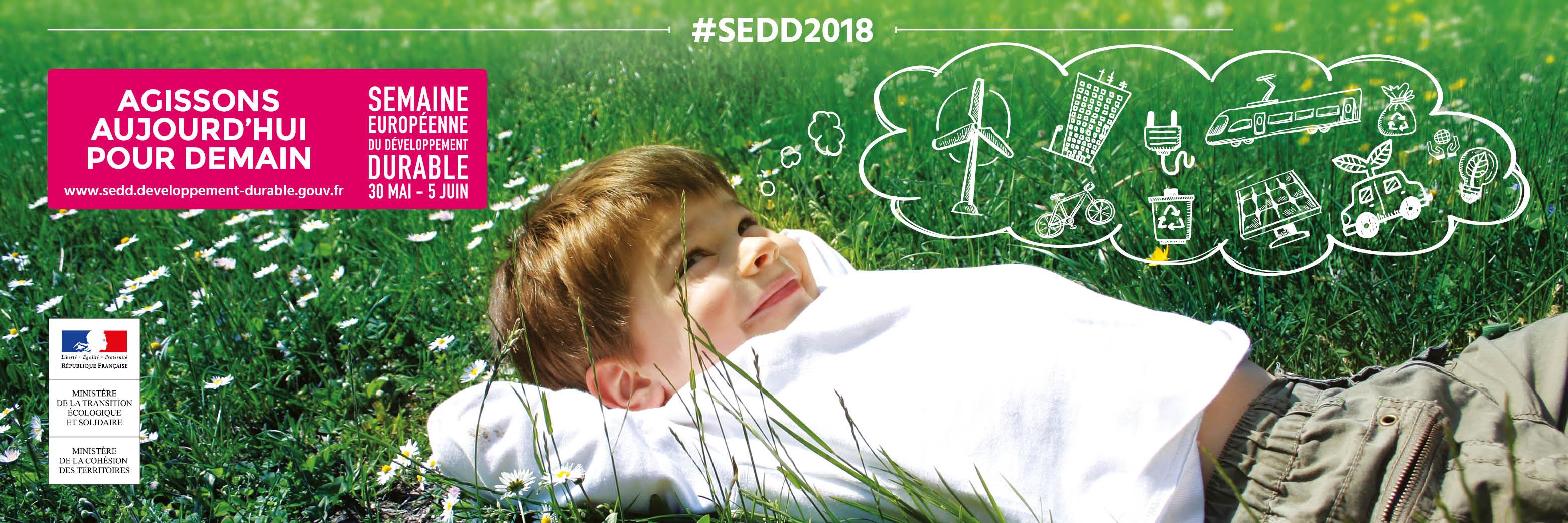 Semaine européenne développement durable 2018