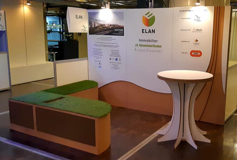 Stand salon BIOMIN expo Cité Villette
