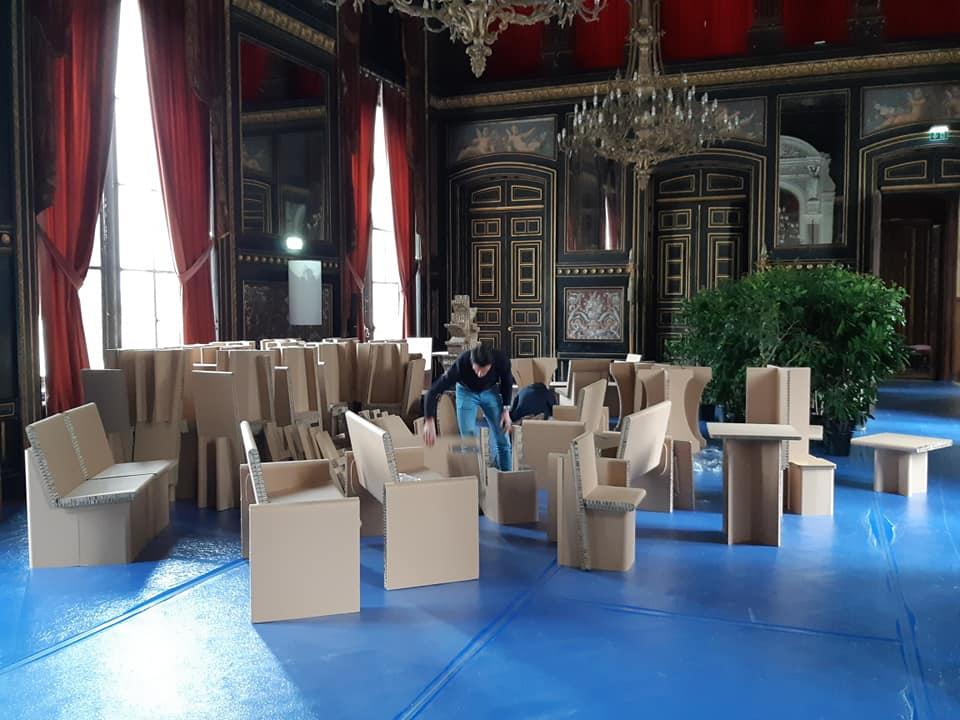 Fauve carton Festival d'Angoulême