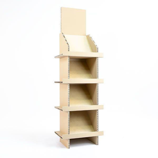 Nature box, fabricant meubles carton stands carton recyclé