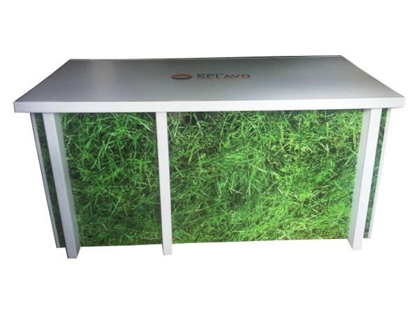Comptoir personnalisé en carton - My Nature Box