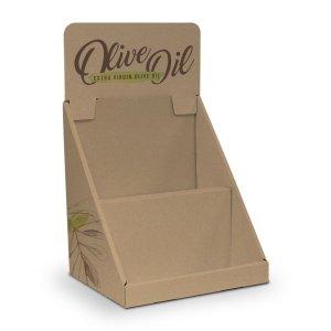 Présentoir de comptoir en carton