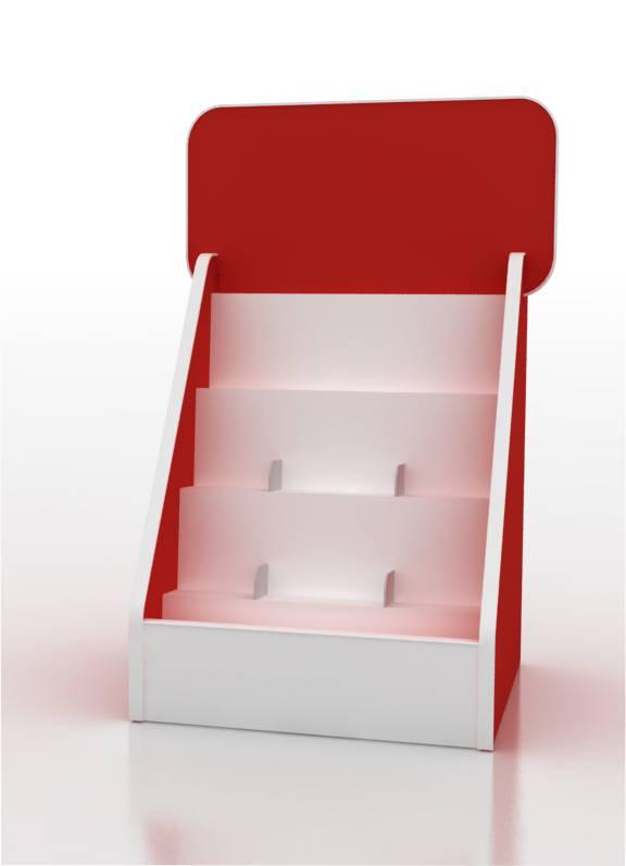 PLV - Présentoir en carton