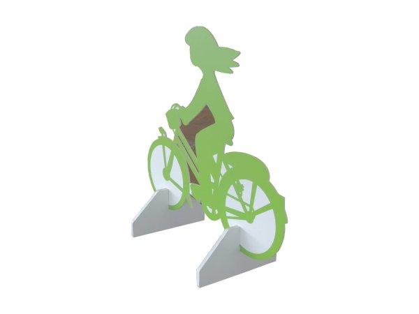 Silhouette cycliste en carton - My Nature Box
