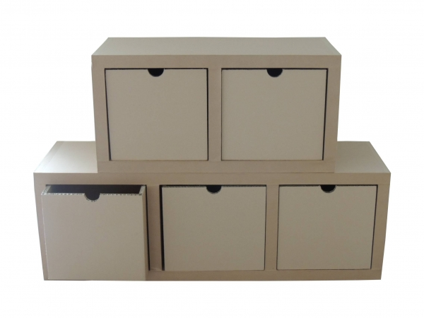 Modules de rangement en carton - My Nature Box