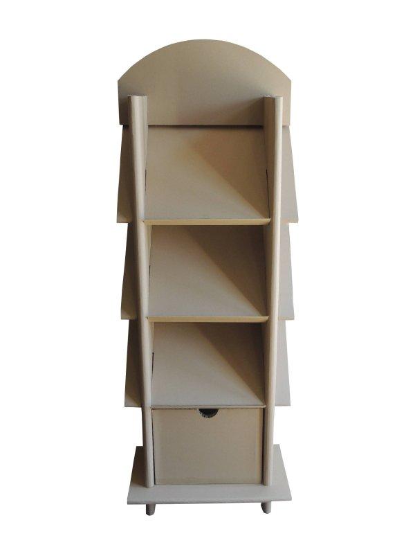 Présentoir de documents avec titoir de rangement - My Nature Box
