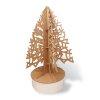 Sapin Noël décoratif en carton recyclé