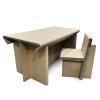 Table en arton recyclé