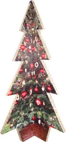Sapin Noel en carton
